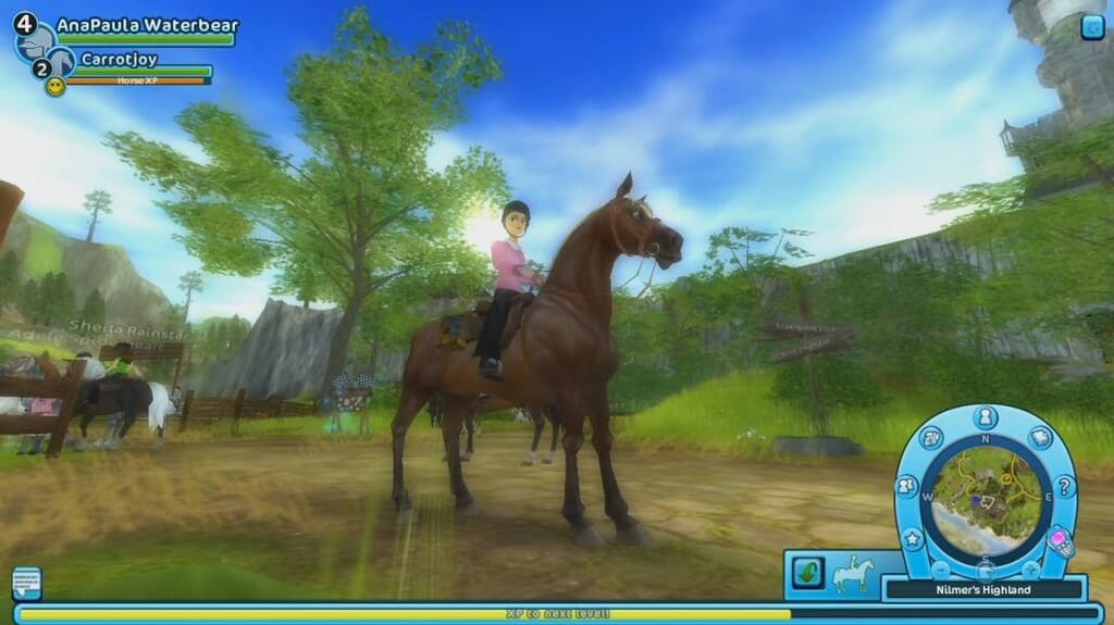 Star Stable gameplay horse